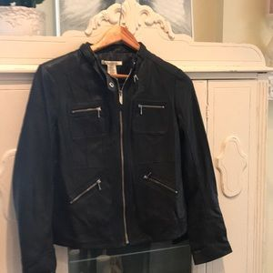 Kenneth Cole genuine Leather Jacket